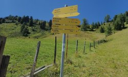 Biketour Firstkogel - Start Schiebestrecke